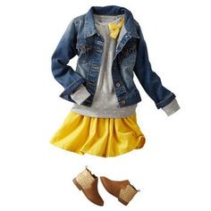 adorable fall outfit for girls
