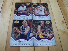 Pau Gasol Steve Blake Elias Harris Chris Kaman 2013 14 Prestige Lakers Card Lot   eBay