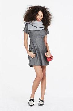 TEXTURED HOURGLASS DRESS #style #fashion #trend #onlineshop #shoptagr