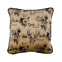 On the Range Golden Accent Pillow