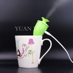 By DHL 10ps Mini Portable Aromatherapy Essential Oil Mist Maker Nebulizer Atomizer Head Without Lights  Air Humidifier