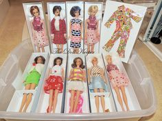 How I display my Hair Fair Barbie Dolls | by The doll keeper