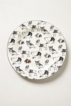 Forest Saunter Dinner Plate would be a nice addition to your Holiday tablescape | anthropologie