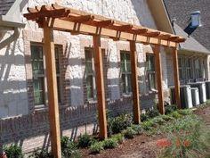 PERFECT! small pergolas and arbors | | Skinny Garden Pergola | Small Garden Abor | Skinny Garden Arbor ...