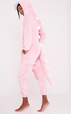 Dinosaur OnesieYou'll be saying no to nights out when you see our range of onesies. Cosy up ...