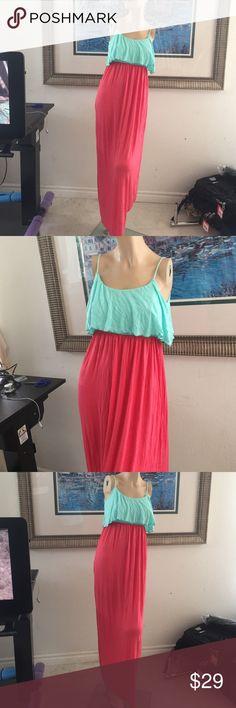 Women tank maxi long dress maternity red blue New, can use for maternity dress J mode Dresses Maxi