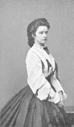 Elisabeth of Austria in a Swiss Waist