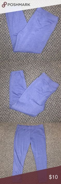 •No Boundaries• Super Soft Sweatpants 🆑 BUNDLE ONLY!🆑  Size XL (16-18). Worn once. Very soft & comfortable. 51% Cotton, 49% Polyester. Color is blue, but they look slightly purple. Pretty! No Boundaries Pants