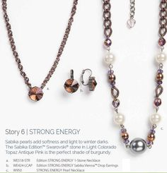 MORE POWER OF 50% OFF PRICING YIELDS ALMOST $100 OFF THIS 3-PIECE set! Buy the earrings for reg price $69 qualifies you for 50% off matching choker & bracelet!! Total cost before tax & ship: $162.50! (an average of only $54 a piece!). NOW THAT'S a SALE!!! But hurry.. sales ends 1/31/15 and while supplies last!! #tonisabikalove