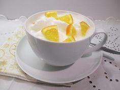 Narancsos borleves - ünnepnapokra is - Háztartás Ma Cod Fish, Tea Cups, Menu, Tableware, Cod, Menu Board Design, Dinnerware, Tablewares, Dishes