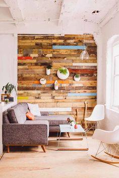 Ahora decorar tu casa con cierta tendencia ecológica puede ser sencillo. Decoración Estibas Tablets Ecológico