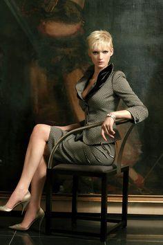 Skirt suits, uniforms, amazing dresses... http://www.royaldressedladies.com/blog/lady-dressed-for-full-fashioned-perversion.html