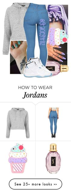 """"" by graciegyrl12 on Polyvore featuring Topshop and OPI 