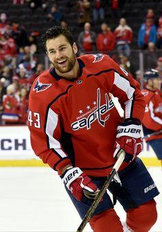 """Washington Capitals on Twitter: """"good morning!… """" Caps Hockey, Hot Hockey Players, Hockey Teams, Nhl Players, Hockey Outfits, Cheerleading Outfits, Sport Outfits, Hockey Baby, Hockey Girls"""