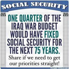 and pay back the money taken by the republicans for their wars. Pay back the money you took!!!!