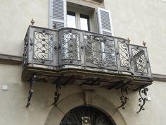 Nice iron balcony , Italy