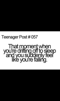 Thank god.... I'm not the only one that gets this feeling.