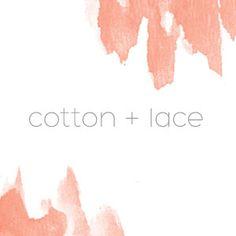 Driskell Creative - Cotton + Lace - Branding, Web Design, Web Development