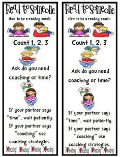 Daily 5 Read to Someone & Listen to Reading Packet (FREEBIE) Perfect for Reading Buddies! Daily 5 Reading, Partner Reading, First Grade Reading, Reading Lessons, Guided Reading, Reading Resources, Partner Talk, Reading 2014, Reading Activities