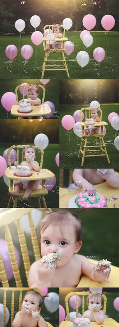 Family Photography, cake smash, birthday, baby 1st birthday, baby in highchair