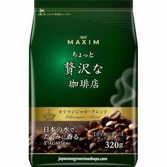 (AGF) Maxim Luxurious Coffee Shop Kilimanjaro Blend Ground Coffee  (320 grams)