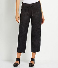 Eileen Fisher WideLeg Ankle Pants #Dillards