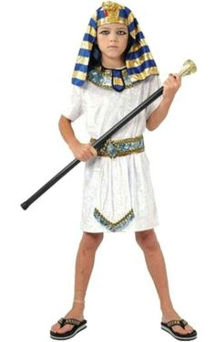 For Purim Children White Egyptian Pharaoh Cleopatra Adult Costumes Halloween Cosplay Costume Egypt Princess Prince Family Party Kids Costumes Boys, Boy Halloween Costumes, Boy Costumes, Halloween Kostüm, Adult Costumes, Family Halloween, Halloween Cosplay, Egyptian Costume Kids, Egyptian Fancy Dress