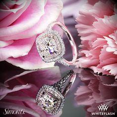 Simon G Passion Diamond Engagement Ring.