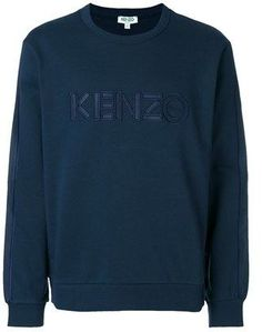 Kenzo Men's Blue Cotton Sweatshirt.