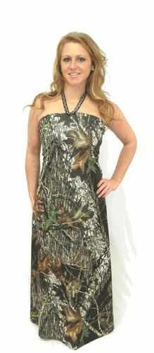 The Big Red Neck Trading Post - Emily Camo Dress - Long Camo Gown, $190.00 (http://www.thebigrednecktradingpost.com/products/emily-camo-dress-long-camo-gown.html)