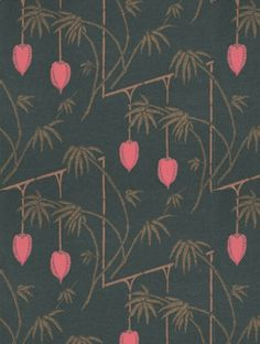 Harlequin's+Kimiko++is+taken+from+the+Tamika+wallpaper+collection.