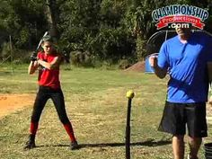 15 Hitting Drills for a Balanced and Explosive Softball Swing - YouTube