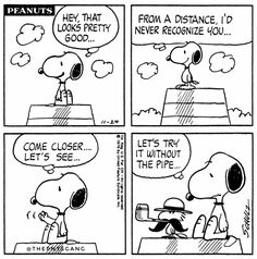 #thepntsgang #pnts #peanuts #schulz #snoopy #woodstock #recognize #without #pipe