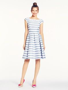 mariella dress--Kate Spade. This dress, on sale, is $328. Way out of my price range. How do I make it myself?
