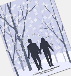 114 best Tree fingerprint guest book images on Pinterest   Wedding ...