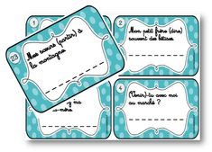 Task cards - The present verbs in -ER and -IR - The school of Ailleur . - Task cards – The present verbs in -ER and -IR – The School of Elsewhere - Presentation, French Language Learning, Cycle 3, Famous Last Words, Diy Organization, Task Cards, Worlds Of Fun, Easter Crafts, Diy Beauty