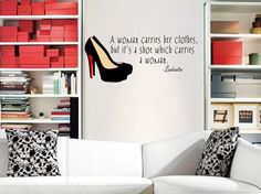 "'30""x 15""    Wall Decals are the latest trend in home fashion and are sure to make a statement in your home, office, dorm room, or wherever else you would like to ""stick"" them! Manufactured in the USA using only the highest quality materials, these decals are easy to apply and will look great f..."