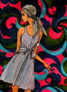 Fashion illustration… 1960s