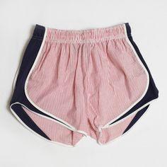 Lauren James Red/Navy Shorties . Get it here! #laurenjames