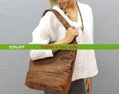 Sale!!! Distressed brown leather bag leather tote bag Unique leather shoulder bag  Handmade with LOVE!!!! by limorgalili. Explore more products on http://limorgalili.etsy.com