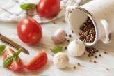 Kunstdruck Frische Tomaten Küchenstillleben