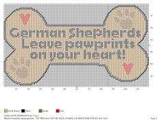 """""""Dogs leave pawprints""""pattern"""