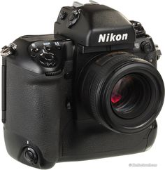 The Nikon F5. Shooting film is still awesome.