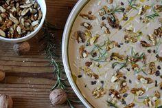 The Classic Tuscan Chestnut cake : Castagnaccio Recipe | ToscanAmo.com