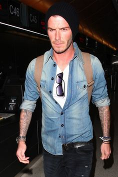 mens rugged fashion | guys, David Beckham is a great celeb style guide. More often in rugged ...