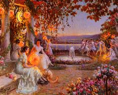 Delphin Enjolras (1857 – 1945) – Pintor Francês_38