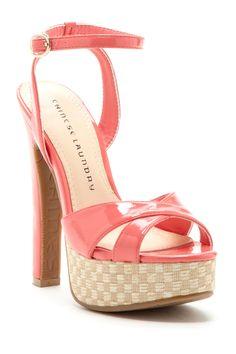 Z Turn My Way Platform Sandal on HauteLook #GlamLife