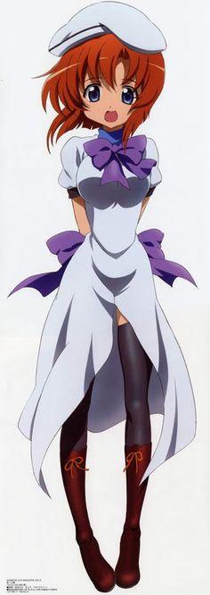 Rena Ryuugu - Higurashi no Naku Koro ni — I absolutely adore Rena!! She's my favorite and I love the outfit she has on now...