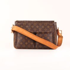 Louis Vuitton Viva-Cité GM Monogram Strap Bag.