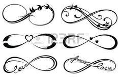 unendlichkeit: Infinity liebe, für immer Symbol